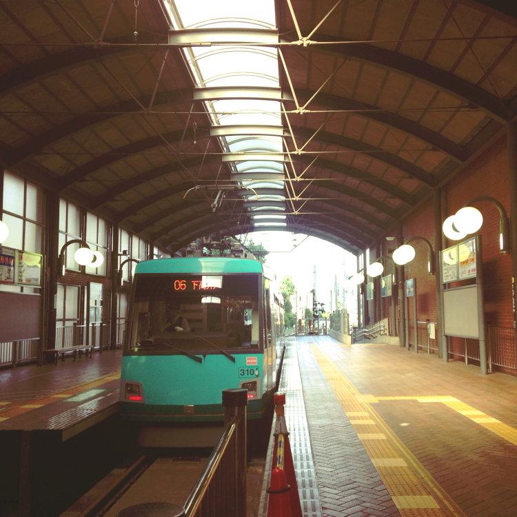 世田谷線 三軒茶屋駅
