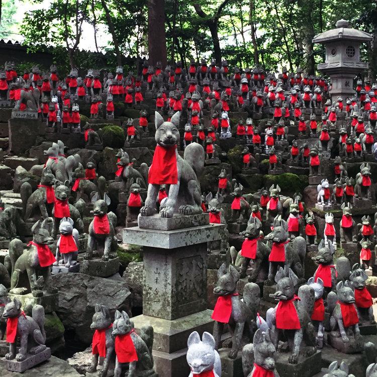 豊川稲荷(妙厳寺)