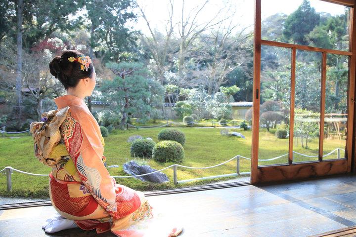 この冬限定公開のお寺から、色と...