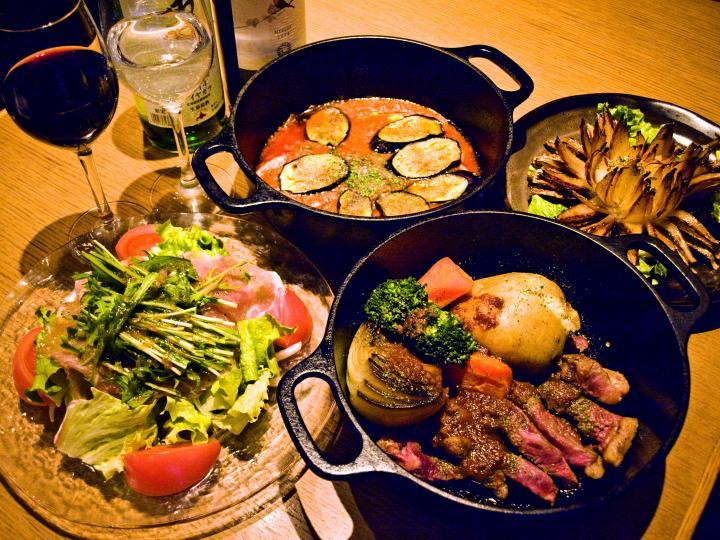 ことりっぷ【自由が丘】北海道の食材の旨みを無水鍋で閉じ込めたダッチオーブン料理。「ラベンダーキッチン」