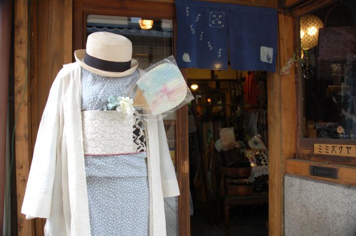 d5639fee3ea78 ワンピース感覚で楽しめる、洋服生地の着物が人気!京都の着物と和小物の ...