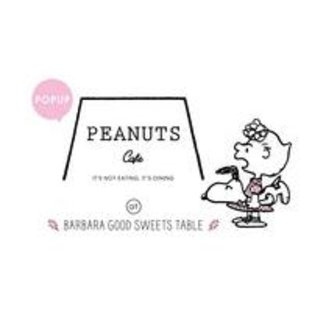 PEANUTS Cafe at BARABARA GOOD SWEETS TABLE